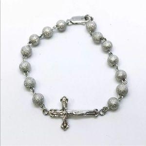 Jewelry - New 14k White Gold Layer On 925 Silver Bracelet